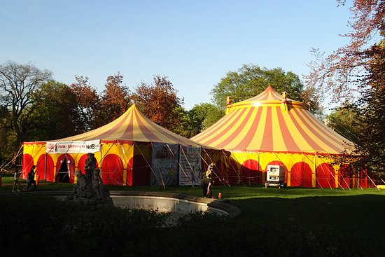 Park Luzanky Enter the circus tent and enjoy some cultural events & Enter the circus tent and enjoy some cultural events - Picture of ...
