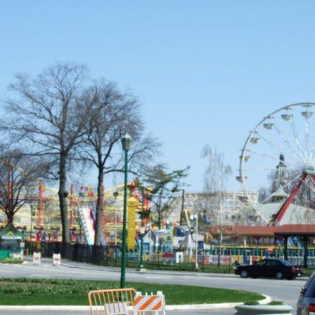 Rye beach and Playland