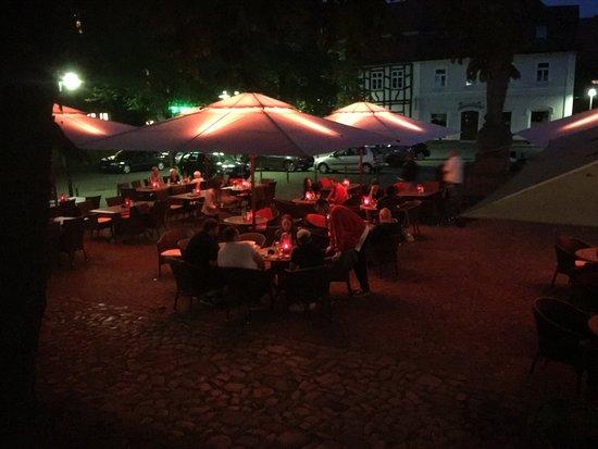 Warburg, Γερμανία: Terrasse
