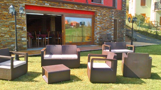 Somado, Espagne: Terraza jardín