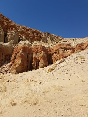 Cantil, แคลิฟอร์เนีย: Red Rock Canyon State Park