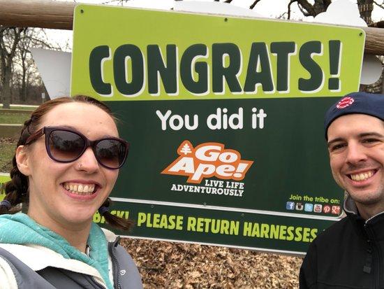 Western Springs, IL: We did it