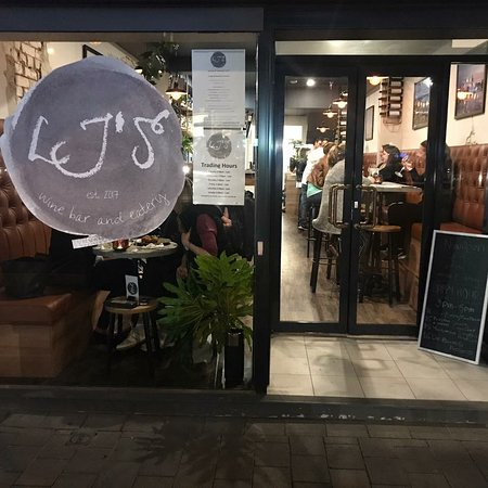 LJ's Wine Bar & Eatery: Welcome to LJ's in Cremorne