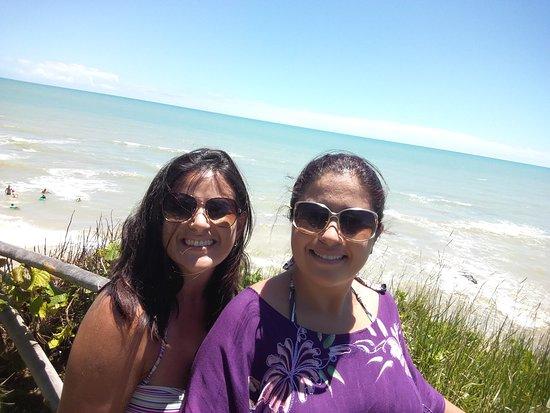 Tororao Beach: Apreciando o mar....
