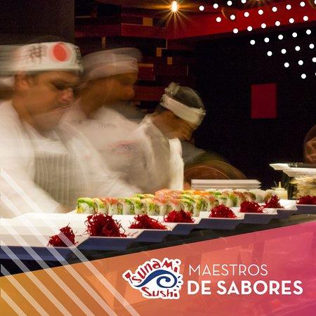 San Rafael de Escazu, كوستاريكا: ¡Prepárate para vivir una noche inolvidable de Sushi Rolls y buen ambiente! 