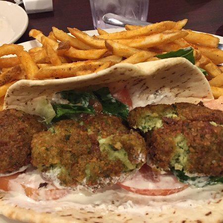 Madison, MS: Falafel sandwich