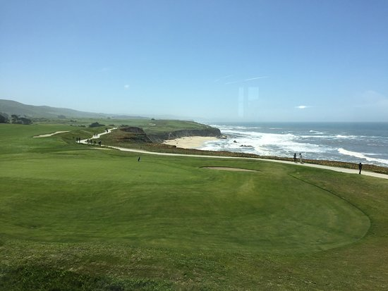 The Ritz-Carlton, Half Moon Bay: Picture taken from our room.