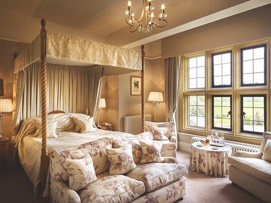 Llyswen, UK: Guest room