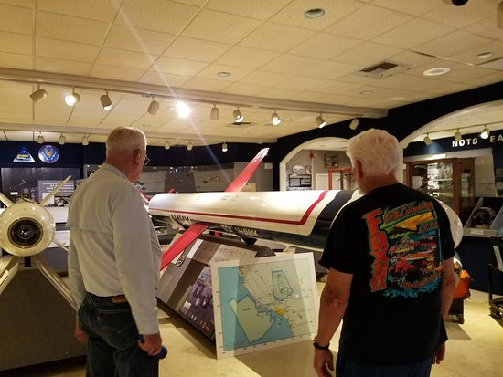China Lake Naval Weapons Center: Inside the on-base portion with our docent