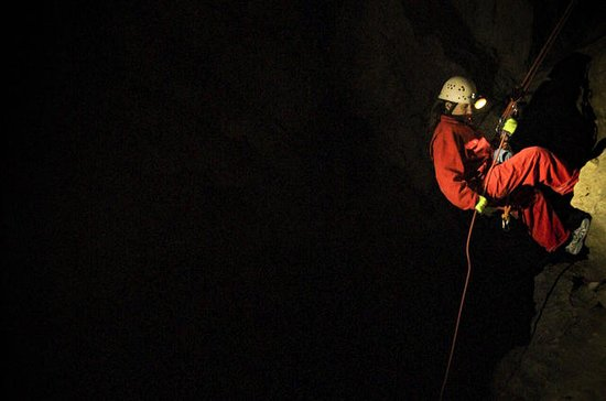 Canmore Caving Adventure Tour