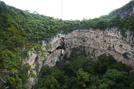 Aventura Rappel Chiapas en Sima de...