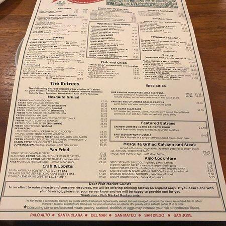 The Fish Market, San Mateo - Menu, Prices & Restaurant Reviews - TripAdvisor