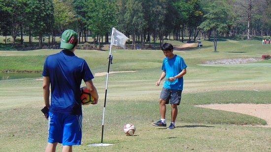 Khao Yoi, Tayland: Footgolf Thailand - Sawang