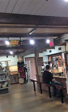 Pottery Store Picture Of Pigeon River Pottery Pigeon Forge