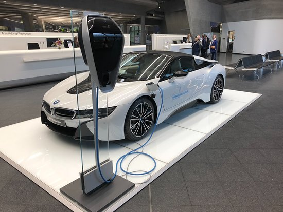 The New I8 Roadster At The Bmw Factory Well Worth Booking A Tour Picture Of Pentahotel Leipzig Tripadvisor