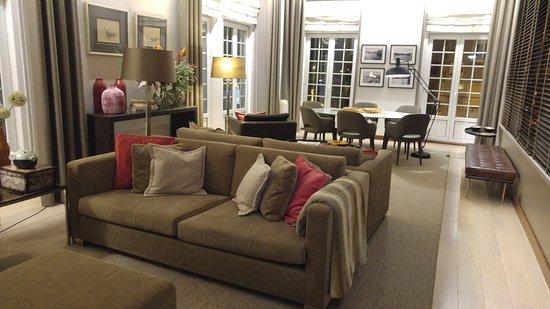 Hotel Aveiro Palace : sala lettura