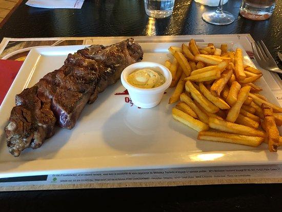 C te de boeuf cuisson parfaite miam bild fr n grill courtepaille guyancourt tripadvisor - Cuisson basse cote a griller ...