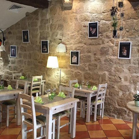 Saint-Macaire, Francja: salle restaurant