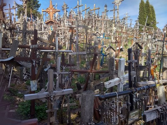 ‪Hill of Crosses Guided Tour‬