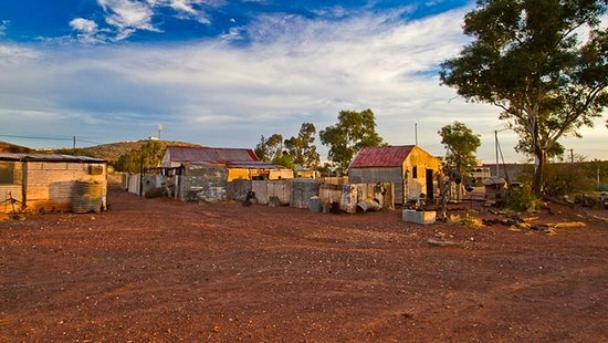 Leonora, Australia: Some of the houses now owned and maintained by locals just a couple of at least 50