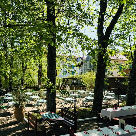 Oberhaching, ألمانيا: Biergarten Restaurant Aphrodite