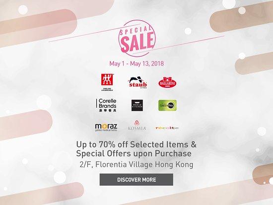 6b0873432cb Florentia Village, Hong Kong Luxury Designer Outlet: Special Sale - Up to  70%