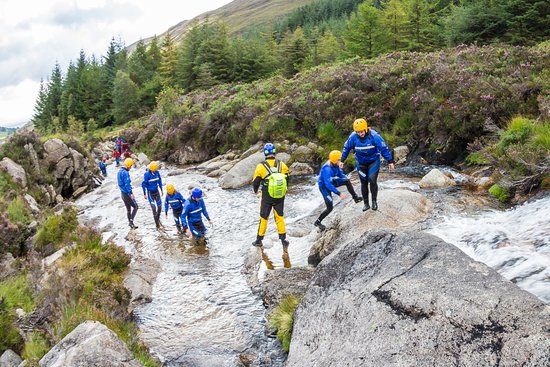 Brodick, UK: Gorge Walking