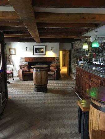 Little Haven, UK: View of pub