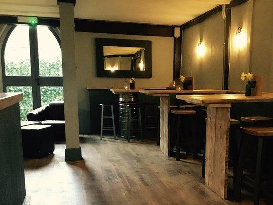 Cranbrook, UK: The bar