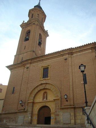 Iglesia del Pilar en Calanda (Teruel)