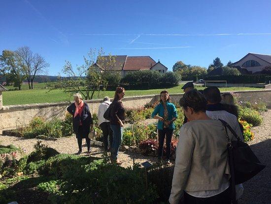 Remoray-Boujeons, فرنسا: visite des responsables du tourisme