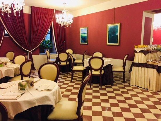 San Luca Palace Hotel : Breakfast area