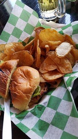 plain chicken sandwich chips picture of milwaukee brat house rh tripadvisor com
