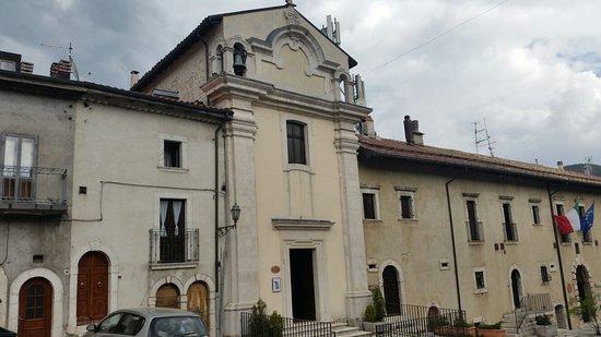 Opi, Italie: Cappella di San Giovanni Battista