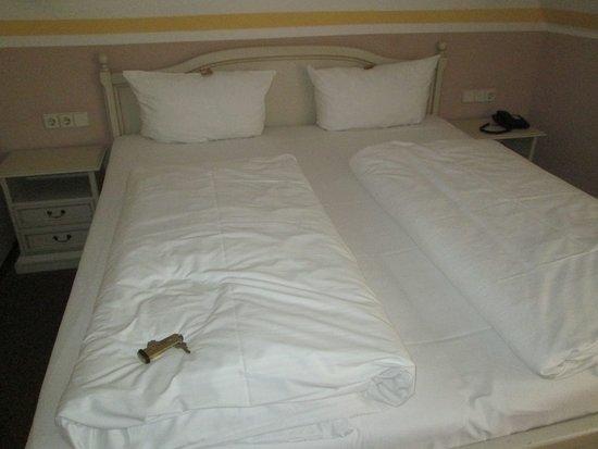 Hotel Blauer Hecht: Doppelbetten