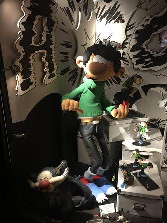 Moof Musée de la Bande dessinée et des Figurines : неизвестный мне мульт