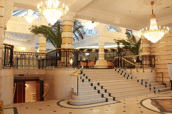 Ambassador Hotel: Hall d'entrée