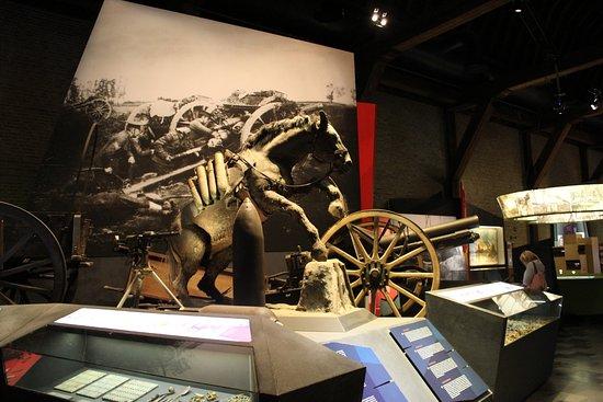 Musée de la guerre «In Flanders Field» : War Horse