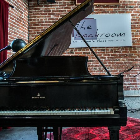 "Berkeley, CA: The Back Room has a lovely grand piano often played by the venue's owner, ""Hurricane Sam"" Rudin."