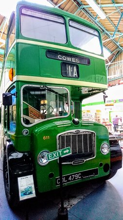 Isle of Wight Bus & Coach Museum: Buses at the museum