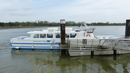 Ile-d'Arz, Fransa: bateau bus direction l' île d' Arz