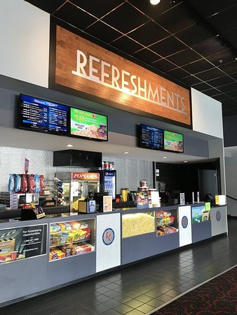 Flagship Premium Cinemas - Wells: Check out our refreshment stand for self-serve butter, and free refills on drinks!