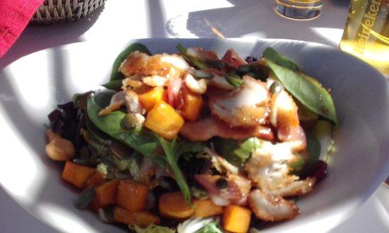 Abrassame: ensalada completa, todo super fresco y de calidad