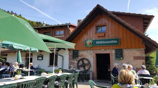 Nordrach, Germany: Mühlenstüble - Biergarten