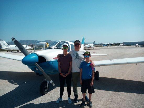 Pachi, Hellas: Hellenic Sky Aviation Club = Amazing