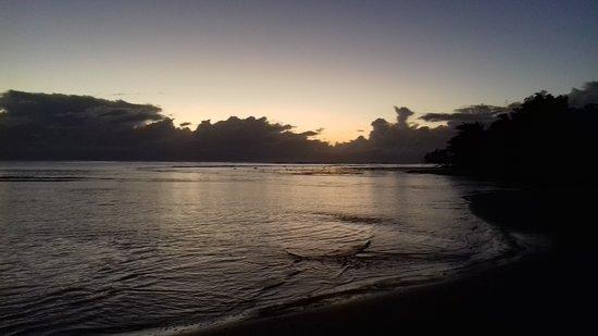 Mahambo, Madagascar: Lèvé de soleil