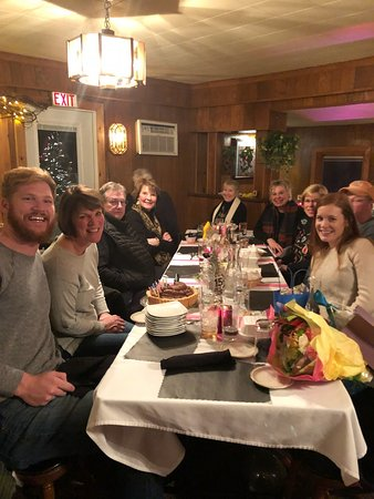 Jacksonport, WI: Celebrations are a hit at Mr.G's!  Birthdays, Anniversaries, even Engagements!