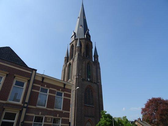 Sint Jozefkerk Enschede uit1894;architecten J.Th.J. Cuypers-J.Stuyt