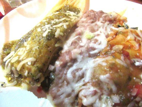 Combination Plate, El Torito, Milpitas, CA