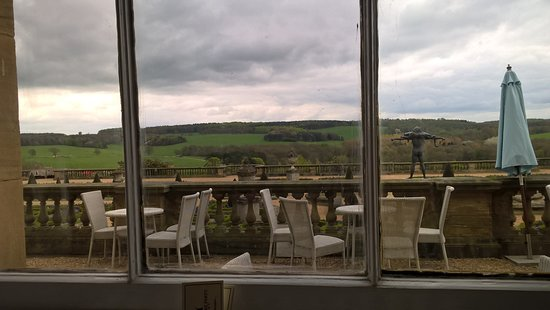 Harewood House: View from the Terrace cafe